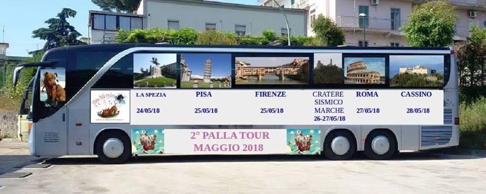 Palla Tour il via a Maggio: 6 date, da La Spezia a Cassino
